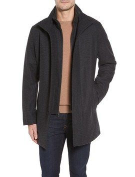 Melton Wool Blend Coat by Cole Haan