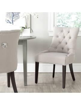 Safavieh Harlow Grey Ring Chair (Set Of 2) by Safavieh