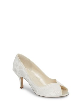 Christabel Lace Pump by Pink Paradox London