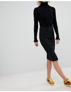 New Look Texture Pencil Skirt by New Look