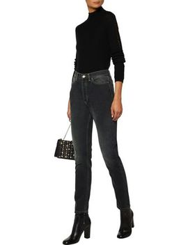 High Rise Slim Leg Jeans by Iro