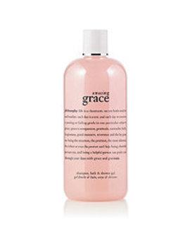 Amazing Grace Perfumed Shampoo, Shower Gel & Bubble Bath by Philosophy