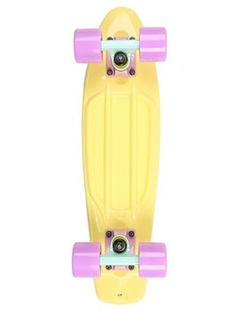 Two Bare Feet Complete 22 Inch Retro Cruiser Plastic Skateboard by Two Bare Feet