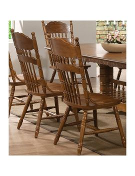 Trieste Windsor Country Style Dining Chairs (Set Of 2) by Generic