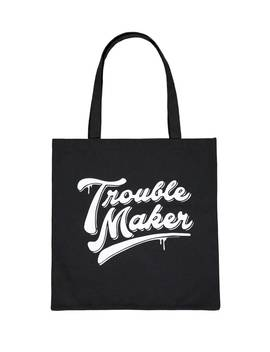 Trouble Maker Graphic Tote Bag by Forever 21