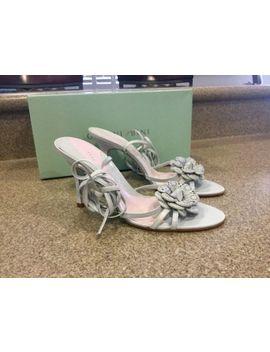 $89 Nwb Gianni Bini Petal Ultramari Open Toe Strappy High Heels Shoes 8 M by Gianni Bini