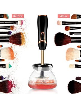 Electric Makeup Brush Cleaner And Dryer Kit (New Version 2018) Quick 20 Sec Clean And Dry All Make Up Brushes   By Unique Style by Unique Style