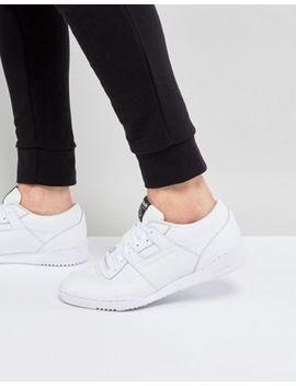 Reebok – Workout Lo Clean Id – Weiße Sneaker, Bs9831 by Reebok