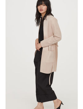 Coat With Tie Belt by H&M