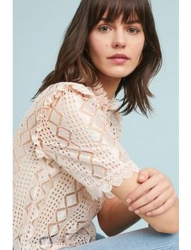 Stein Lace Blouse by Plenty By Tracy Reese