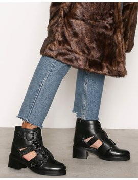 Buckle Boots by Topshop