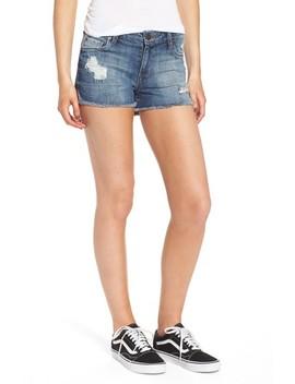 Boyfriend Distressed Denim Shorts by Sts Blue