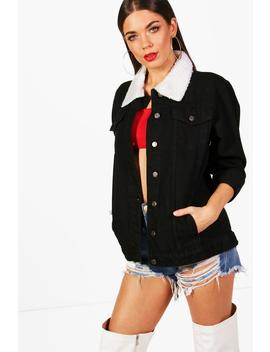 Tall Amy Denim Jacket by Boohoo