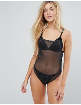 Real Fusion Black Sparkle Mesh Body by Real