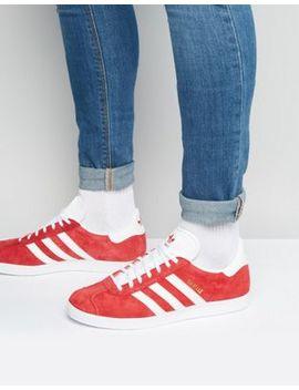 Adidas Originals – Gazelle – Rote Sneaker, S76228 by Adidas Originals