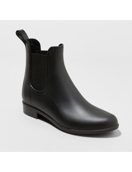 Women's Alex Rain Boots   A New Day™ Black 12 by A New Day™