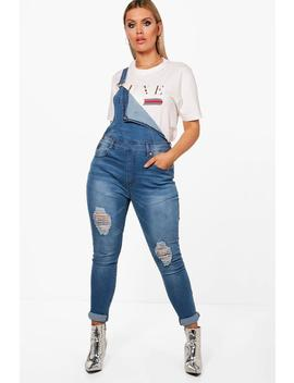 Plus Hollie Dungaree by Boohoo