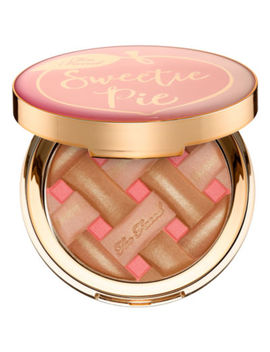 Too Faced Sweetie Pie Bronzer Radiant Matte Bronzer – Peaches And Cream Collection by Too Faced