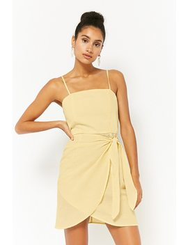 Striped Seersucker Cami Dress by Forever 21
