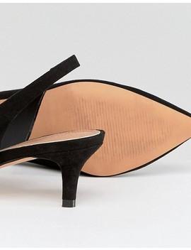 Asos Spirit Slingback Kitten Heels by Asos Collection