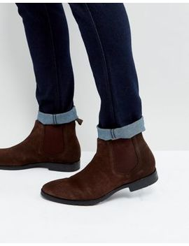 Dead Vintage Chelsea Boots In Brown Leather by Asos