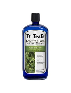 Dr Teal's Relax & Relief With Eucalyptus & Spearmint Foaming Bath, 34 Fl.Oz. by Dr Teal's