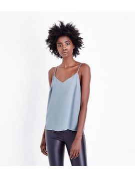 Mint Green Strappy Back Cami by New Look