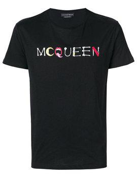 Carrier Logo T Shirt by Alexander Mc Queen