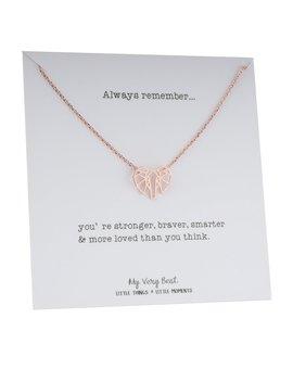 My Very Best Geometric Origami Elephant Necklace by My Very Best