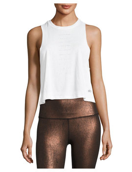 Flow Graphic Racerback Lightweight Tank by Alo Yoga