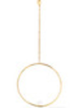 14 Karat Gold Pearl Earring by Anissa Kermiche