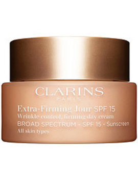 Extra Firming Wrinkle Control Firming Day Cream Broad Spectrum Spf 15 All Skin Types by Clarins