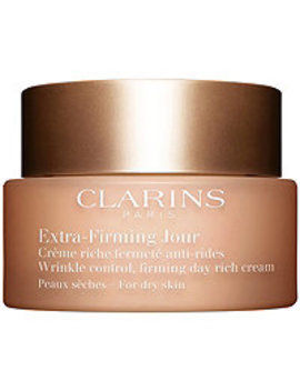 Extra Firming Wrinkle Control Firming Day Rich Cream For Dry Skin by Clarins