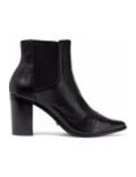 Leather Ankle Boots by Schutz