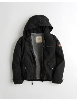 Lightweight Twill Utility Jacket by Hollister