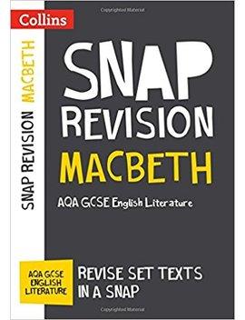 Macbeth: Aqa Gcse English Literature Text Guide (Collins Snap Revision) by Amazon