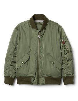 Bomber Jacket In Twill by Gap