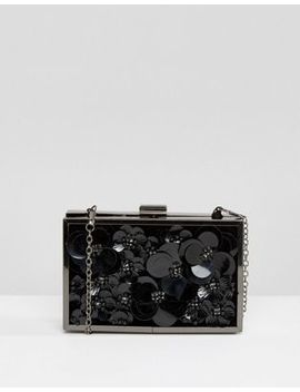 Boohoo 3 D Floral Box Clutch Bag by Boohoo