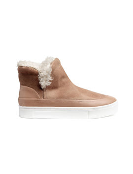 Lined Hi Tops by H&M