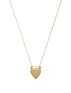 Double Heart Locket Necklace by Amarilo