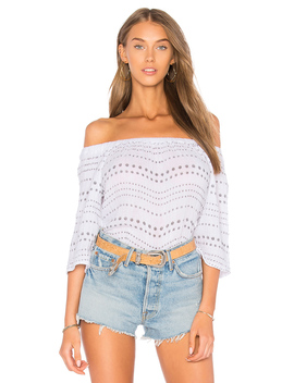 Daisy Off The Shoulder Top by Michael Stars