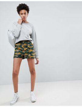 Asos Shorts In Smudge Camo Print by Asos Collection