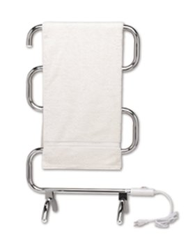 Warmrails Hcc Mid Size Wall Mounted Or Floor Standing Towel Warmer, 37.5 Inch Assembled, Chrome Finish by Warmrails
