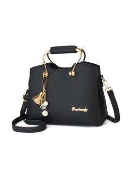 Women Fashion Pu Leather Handbag Shoulder Tote Hobo Satchel Messenger Bag Purse by Unbraded