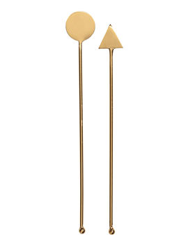 2 Pack Metal Cocktail Stirrers by H&M