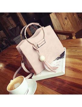 New Fashion Women Ladies Leather Shoulder Bag Handbag Tote Purse Messenger Bag by Fashion Handbag