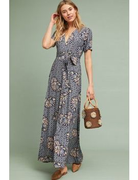 Zinaida Maxi Wrap Dress by The Odells