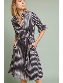 Piccolo Striped Shirtdress by Marimekko