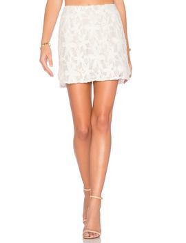 Lace Mini Skirt by Krisa