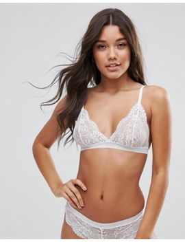 Asos Ruby Mix & Match Picot Trim Lace Triangle Bra by Asos Collection